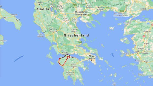 Route_Griechenland_Peloponnes_v3
